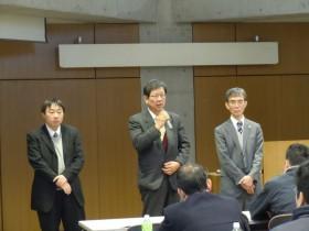 合格体験談を披露した3名の23年度合格者