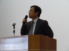 増田会長のあいさつ