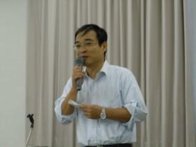 徳島県技術士会 増田会長の挨拶